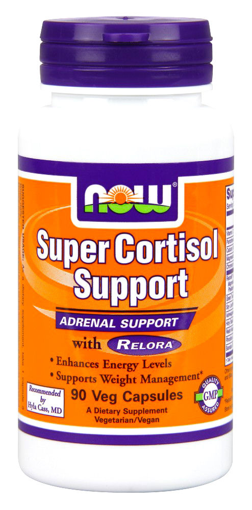 Cortisol suppport NOW