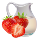 Клубника-йогурт