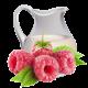 Малина-йогурт