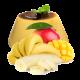 Банановый пудинг с манго