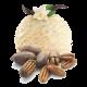 Мороженое с орехом пекан