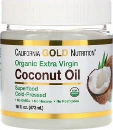 Organic Coconut Oil органическое кокосовое масло - фото 1