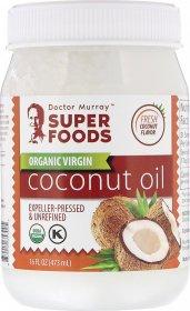 Органическое кокосовое масло первого отжима, нерафинированное - фото 1