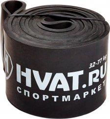 Черная резиновая петля HVAT 32-77 кг - фото 1