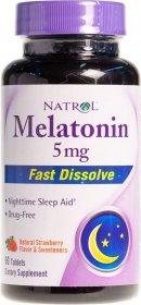 Melatonin 5 mg Fast Dissolve - фото 1