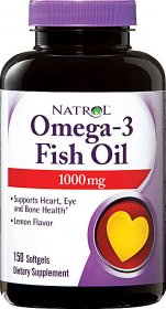 Omega-3 Fish Oil 1000 mg - фото 1