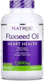 Omega-3 Flaxseed Oil 1000 mg - фото 1