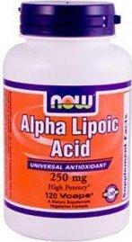 Alpha Lipoic Acid 250mg - фото 1