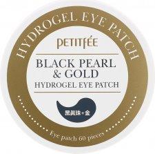 Black Pearl and Gold Гидрогелевые патчи для глаз с золотом и черным жемчугом - фото 1
