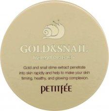 Gold abd Snail Патчи для глаз с экстрактом улитки - фото 1