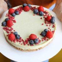 RAW торт Фисташка-Малина (1000 гр)