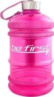 Бутылка с ручкой для воды Be First (Розовый, 2200 мл)