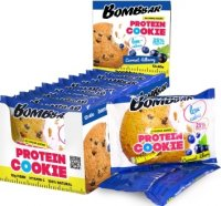 Низкокалорийное печенье Bombbar Protein Cookie (Смородина-черника, 40 гр)