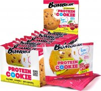 Низкокалорийное печенье Bombbar Protein Cookie (Вишня, 40 гр)