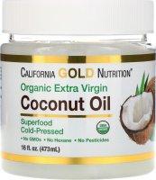 Organic Coconut Oil органическое кокосовое масло (473 мл)