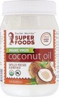 Органическое кокосовое масло первого отжима, нерафинированное (473 мл)