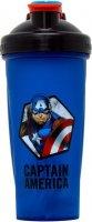 Шейкер Irontrue Marvel Capitan America (Сине-черный, 700 мл)