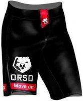 Шорты ORSO ММА Классика (Черно-белый, XL)