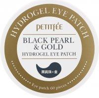 Black Pearl and Gold Гидрогелевые патчи для глаз с золотом и черным жемчугом (60 шт)