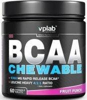 BCAA Сhewable (Фруктовый пунш, 60 жев таб)