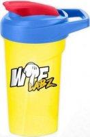 Шейкер WTF Labz (Желто-синий, 500 мл)