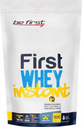 First Whey Instant (Клубничное мороженое, 900 гр)