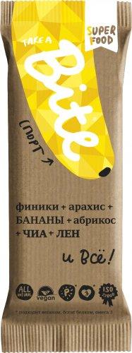 Батончик Bite Спорт (Арахис-банан, 45 гр)