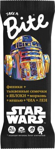 Батончик Bite Star Wars Контроль Веса (Морковь-кешью, 45 гр)