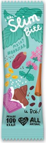 Батончик Slim Bite Мята-шоколад (Мята-шоколад, 30 гр)