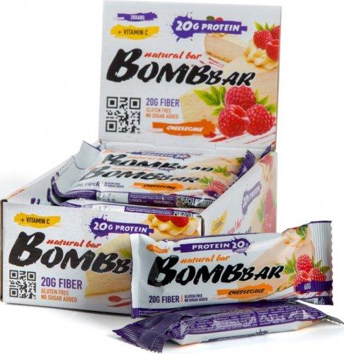 Bombbar (Малиновый чизкейк, 60 гр)