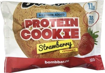 Bombbar Protein Cookie (Клубника, 60 гр)