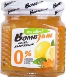 Джем Bombjam (Облепиха-лимон, 250 гр)