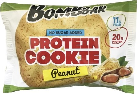 Bombbar Protein Cookie (Арахис, 60 гр)