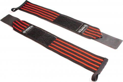 Напульсники спортивные HVAT (Черно-красный)