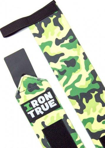 Бинт кистевой Irontrue WS100-50 (Зеленый камуфляж)