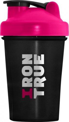 Шейкер Irontrue ITS901-400 (Черно-розовый, 500 мл)