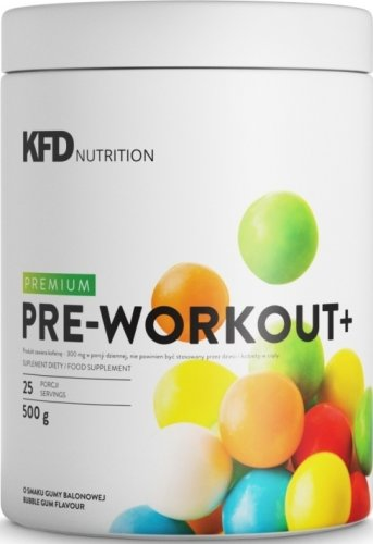 Premium Pre-Workout + (Жевательная резинка, 500 гр)