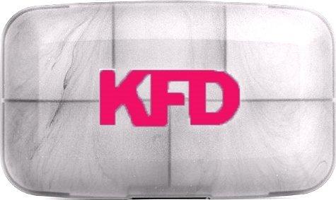 Таблетница KFD (Прозрачно-розовый)
