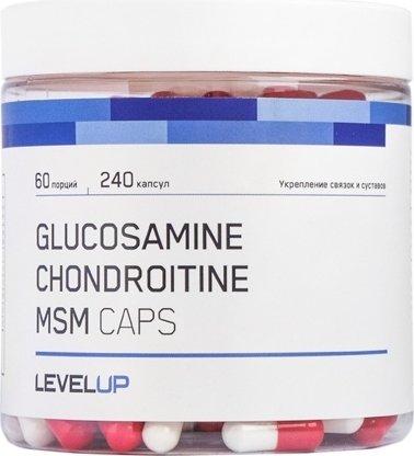 Glucosamine Chondroitine MSM Caps (240 капс)