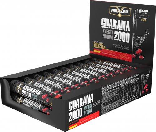 Energy Storm Guarana 2000 (Малина, 1амп х 25мл)(в упаковке 20 амп)