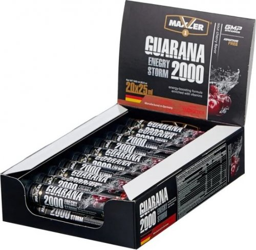Energy Storm Guarana 2000 (Вишня, 1 амп х 25 мл)(в упаковке 20 амп)