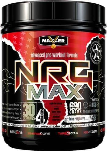 NRG MAX (Синяя малина, 690 гр)