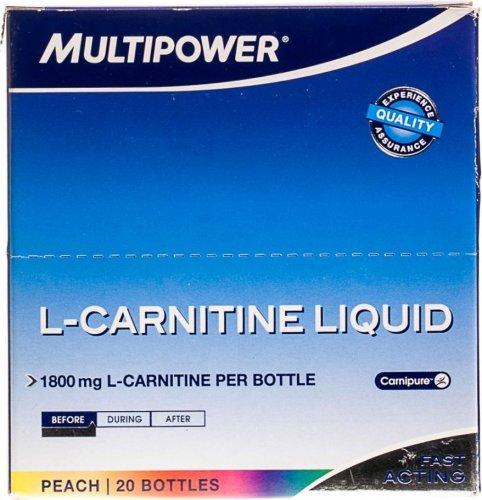 L-Carnitine Liquid Forte (Персик, 20 амп х 25 мл)