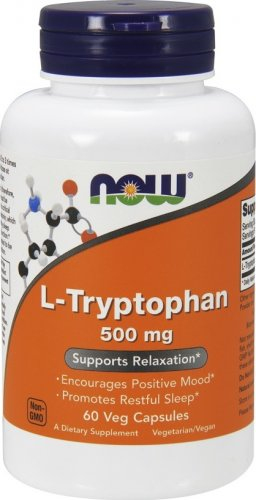 L-Tryptophan 500 mg (60 капс)