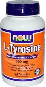L-Tyrosine 500 mg (120 капс)
