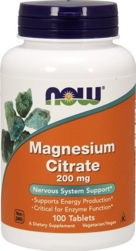 Magnesium Citrate 200 mg (100 таб)