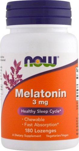 Melatonin 3 mg lozenges (180 лед)