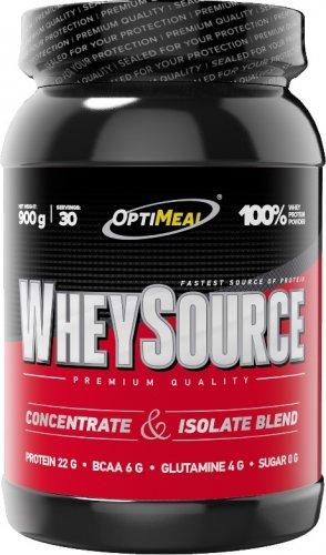 Whey Source (Клубника, 900 гр)
