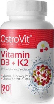 Vitamin D3 + K2 (90 таб)