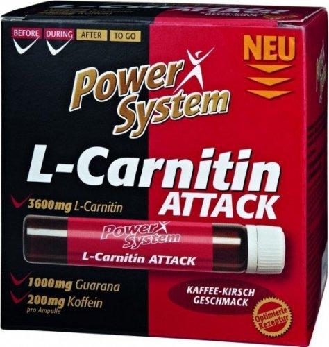 L-Carnitin Attack 3600 (Кофе-вишня, 1 амп х 25 мл)